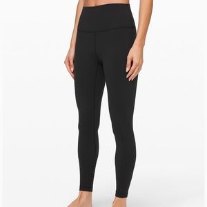 Lululemon Wunder Under High Rise 4 Black